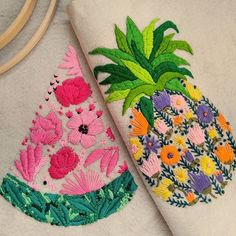 #embroidery #handembroidery #needlework#вышивка #자수   #手仕事 #crossstitch #sewing #contemporaryembroidery  #craft #couture #bordado #hoopart #fiberart #textileart #modernembroidery  #embroideryartist #brooch #flowers #craftsposure #monogram #stitchersofinstagram #initaly #letters #handstitched #flower #watermelon #maker #wallart #embroideryhoop