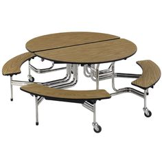 Stool cafeteria table 8 l 8 stools 3 mobile stool cafeteria table