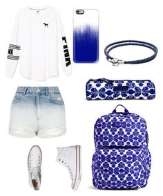 """""""🌌"""" by nikkisfashion273 on Polyvore featuring Vera Bradley, Topshop, Victoria's Secret PINK, Converse, Casetify and Pandora"""