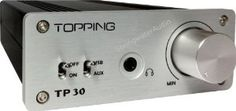 Topping TP30 Class T Digital Mini Amplifier with USB-DAC 15 WPC: Electronics