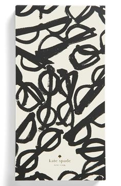 kate spade new york 'a stroke of genius' large note pad