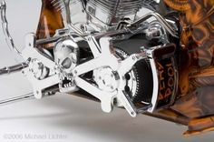 Epic Firetruck's Motor'sicle Details ~ Michael Lichter Photography ~