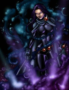 Dark Raven | Lineart by Jamie Fay | Color by Alonzo Canto