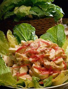 Recette Salade au poulet - Recettes du Québec