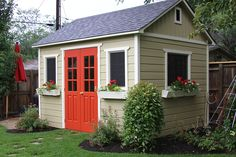 Ideas for shed makeovers @ www.beneathmyhear... #shedplans