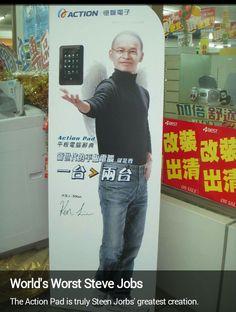 Worst Steve Jobs