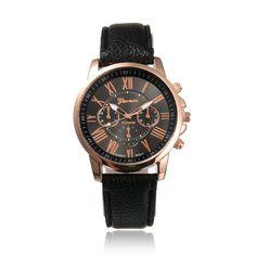 Relojes Mujer 2016 Women Dress Watch Geneva Leather Analog Watch Ladies Watches Quartz Casual Wrist Watches Relogio Feminino #jewelry, #women, #men, #hats, #watches, #belts, #fashion
