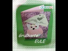 Video-Tutorial: Karte basteln - Alles Liebe mit Eule card#6/2014