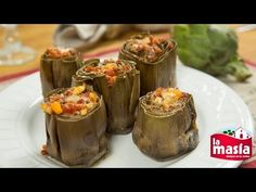 #Alcachofas al horno con jamón y #huevo duro. La #receta, en nuestro blog.