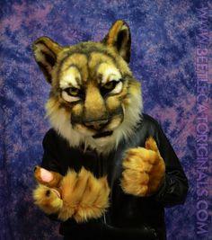 Cougar Fursuit Partial by *Beetlecat on deviantART
