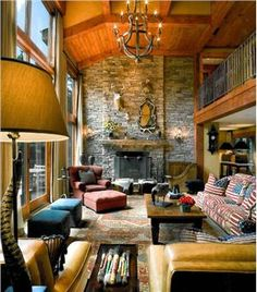 Country/Rustic (Country) Living Room by Barbara Eberlein
