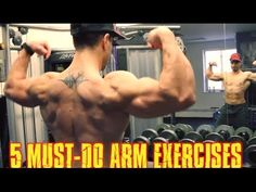5 Must-Do Arm Exercises: Shock & Grow Your Biceps And Triceps | Muscle & Strength