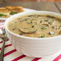 Best Ever Mushroom Soup Recipe | Yummly