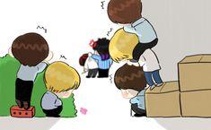 Namjoon, I Like You Got7, Got7 Meme, Got7 Fanart, I Got 7, Youngjae, Jinyoung, Memes, Chibi