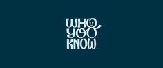 Who You Know Logo