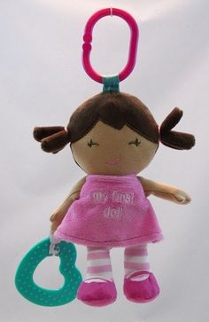 Sunny - A Baby's First Activity Lovey - African American Doll. Plays 'You Are My Sunshine'.