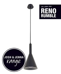 LEDlux Canteen Dimmable Pendant in Black | Pendant Lights | Energy Saving