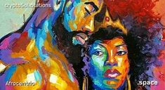 afrocentric.space | Bertrell | Cryptosolicitations Afro, Space, Creative, Painting, Black History, Floor Space, Painting Art, Paintings, Painted Canvas