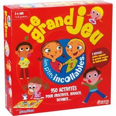 Voici un jeu vu chez un client aujourd'hui comme quoi c'est en partageant que l'on fait des découvertes. Superbe jeu de généralisation :) Toys R Us, Board Games, Cereal, Baby Boy, Box, Kids, Grande Section, French Immersion, Client
