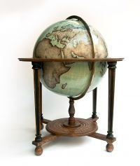 The Galileo from Bellerby and Co. One of the last hand-crafted Globe Makers in the World. Magnificent...
