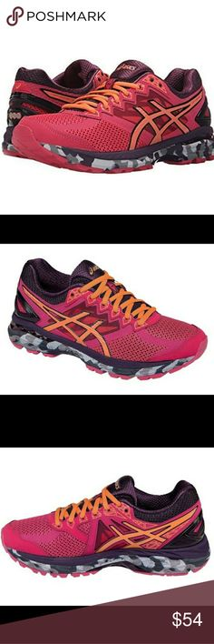 Asics Women's GT-2000 4 Trail Running Asics Women's GT-2000 4 Trail Running Shoes,  Size 8.5, Azela/Melon/Plum colors, Excellent Condition! No stains or tears Asics Shoes Sneakers
