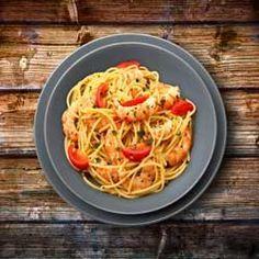 Pâtes aux scampis une délicieuse recette italienne aux gambas, simple et rapide