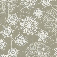Spellbound Doily Web Grey from Cotton and Steel - Full or Half Yard Doily Spider Webs Halloween by meanderingthread on Etsy https://www.etsy.com/listing/241875951/spellbound-doily-web-grey-from-cotton
