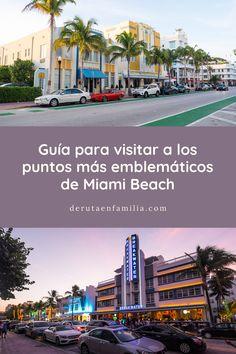 En este artículo encontraréis una guía con información práctica sobre los puntos más emblemáticos que se deben visitar en Miami Beach. Hotel Art Deco, Miami Beach, Desktop Screenshot, Times Square, Florida, Island, Travel, Route 66, Traveling