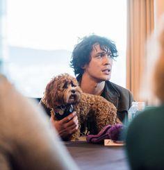 He's sooooo cute!!!.....I mean Bob....but his doggy to....