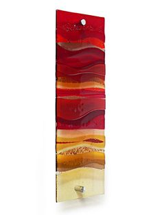 FUSED GLASS WALL ARTWORK PANEL. Love this piece