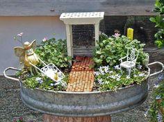 Tiny garden for tiny fairies.
