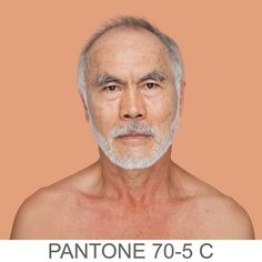 This Powerful Project Matches Skin Tones to Pantone Swatches