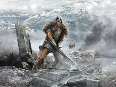 During the Christianization of the Pagon people, a true Norseman would rather die than forsake their gods of war and fertility.  #norse #Viking