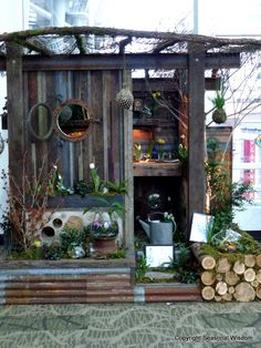 Award winning garden shed by Cultivar, at 2012 #nwfgs