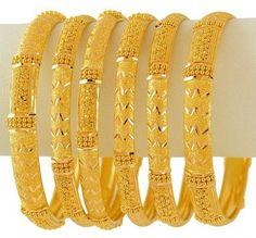 Emoo Fashion: Latest Fashion Gold Bangles Designs for Bridals Gold Bangles For Women, Gold Bangles Design, Gold Earrings Designs, Gold Jewellery Design, Gold Jewelry, Designer Bangles, Gold Necklace, Necklace Designs, Jewlery