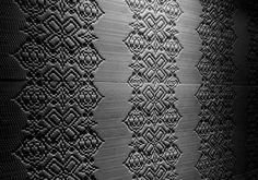 Bas Relief Garland Nero by Patricia Urquiola for Mutina