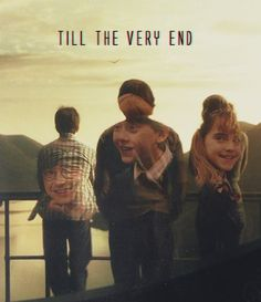 the big 3: day one until the very end. this is a best friend love that should be strived towards. #HarryPotterGeneration