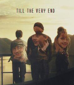 Hasta el final con Harry Potter , hasta el final con la magia