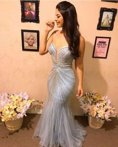 Ideas Fashion Show Party Classy For 2019 V Neck Prom Dresses, Sexy Dresses, Vintage Dresses, Beautiful Dresses, Formal Dresses, Wedding Dresses, Prom Gowns, Award Show Dresses, Looks Party