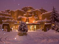 Love Santa Fe, New Mexico (are those Michele & John's luminaries?)
