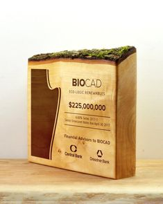 Vancouver Award customized as Financial Tombstone. All Design, Free Design, Custom Design, Tombstone Designs, Tung Oil, Timeless Design, Vancouver, Presents, Toys