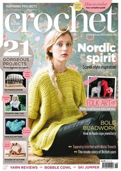 The Rebecca Jumper by Ruby McGrath of Frank&Olive. Best selling front cover design.  I am currently trying to make this, can't  wait to Finnish it