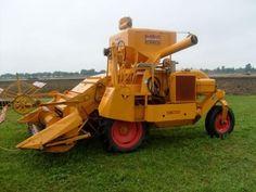Antique massey harris combine antique tractors massey for Garage ford massy