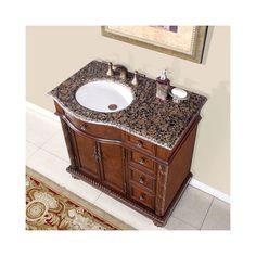 "Silkroad Exclusive Butler 36"" Single Bathroom Vanity Set"