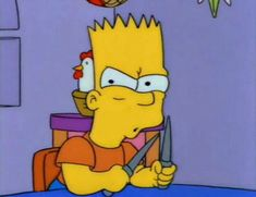 You pess me off, little brat Simpsons Meme, The Simpsons, Cartoon Icons, Cartoon Memes, Funny Memes, Cartoons, Goat Cartoon, Cute Cartoon, Los Simsons