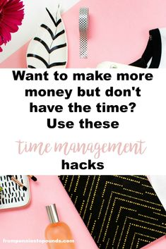 how to make time to make more money