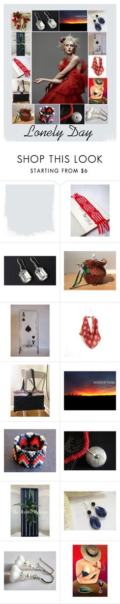 """""""Lonely Day: Handmade & Vintage Gift Ideas"""" by paulinemcewen ❤ liked on Polyvore featuring Nature Home Decor, vintage and country"""