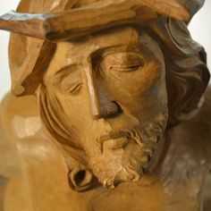 This is a museum quality piece and is one of Jean-Julien Bourgault's finest works of art. It rivals the best works of his master sculptor brothers. Stone Sculpture, Museum Collection, Christ, Art Pieces, Sculptures, Statue, Wood Carvings, Sculpture, Nun