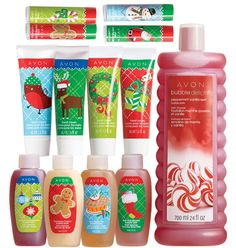 Avon: 13-Piece Holiday Bath & Body Hot Deal. All of this for $12.99!!