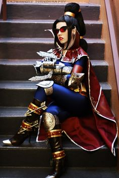 League of Legends cosplay Classic Vayne Jynx